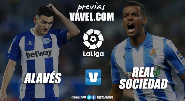 Previa Deportivo Alavés vs Real Sociedad: derbi vasco en busca de recuperar las buenas sensaciones