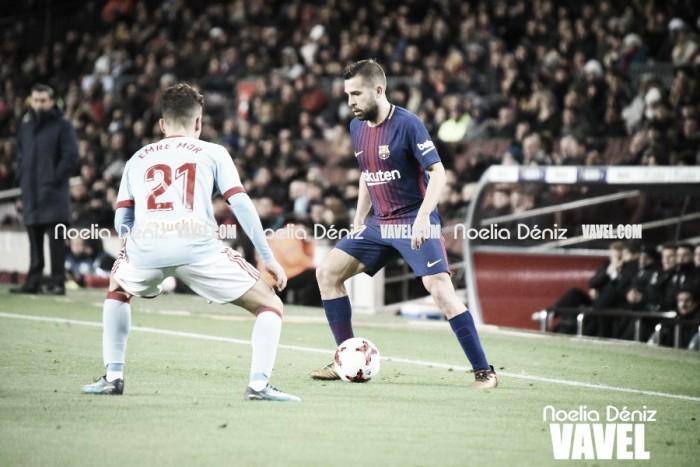 """Jordi Alba: """"Es un lujo tener a Messi en el equipo"""""""