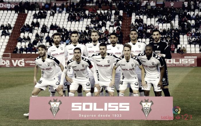 Puntuaciones Albacete - Granada, jornada 22 de La Liga 123