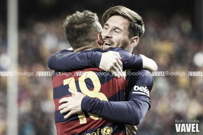 La pizarra: la conexión Messi – Alba