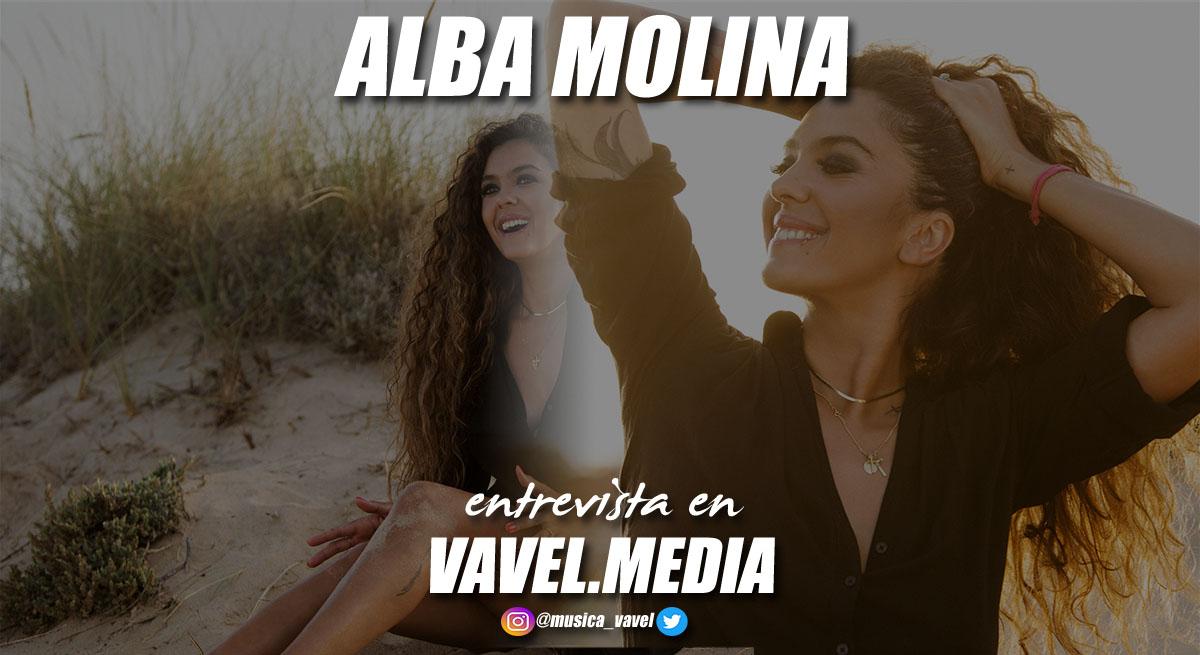 """Entrevista. Alba Molina: """"""""El beso"""" es un estado de ánimo total"""""""