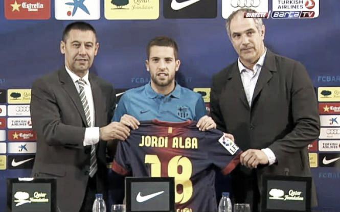 """Jordi Alba: """"Yo creía en mí y sabía que este día llegaría"""""""