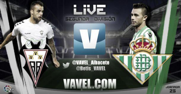 Resultado Albacete - Real Betis en directo (0-0)