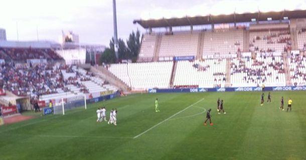 Buena imagen del Albacete Balompié ante el Granada