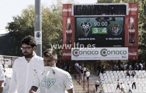 Horario del Valladolid - Albacete de la jornada 31