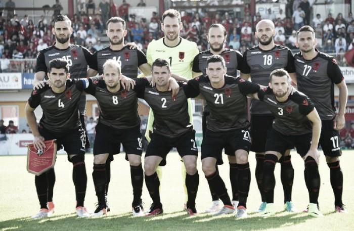 Albania remonta y deja buena imagen de cara a la Euro