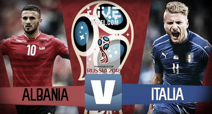 Live Albania vs Italia, diretta qualificazioni Russia 2018 (0-1) - Candrevagol, ma che brutta Italia!