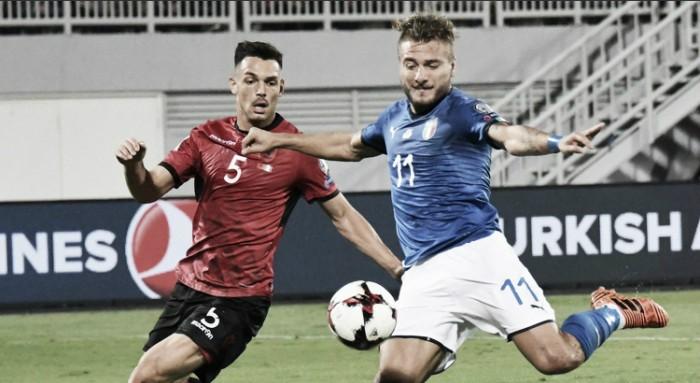 Qualificazioni Russia 2018 - Fatica e noia, ma l'Italia va ai playoff da testa di serie: 0-1 all'Albania