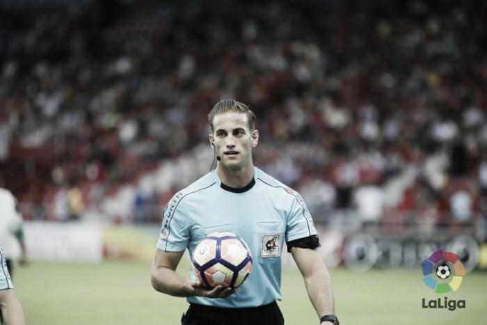 Alberola Rojas, el árbitro del Alcorcón - Real Oviedo