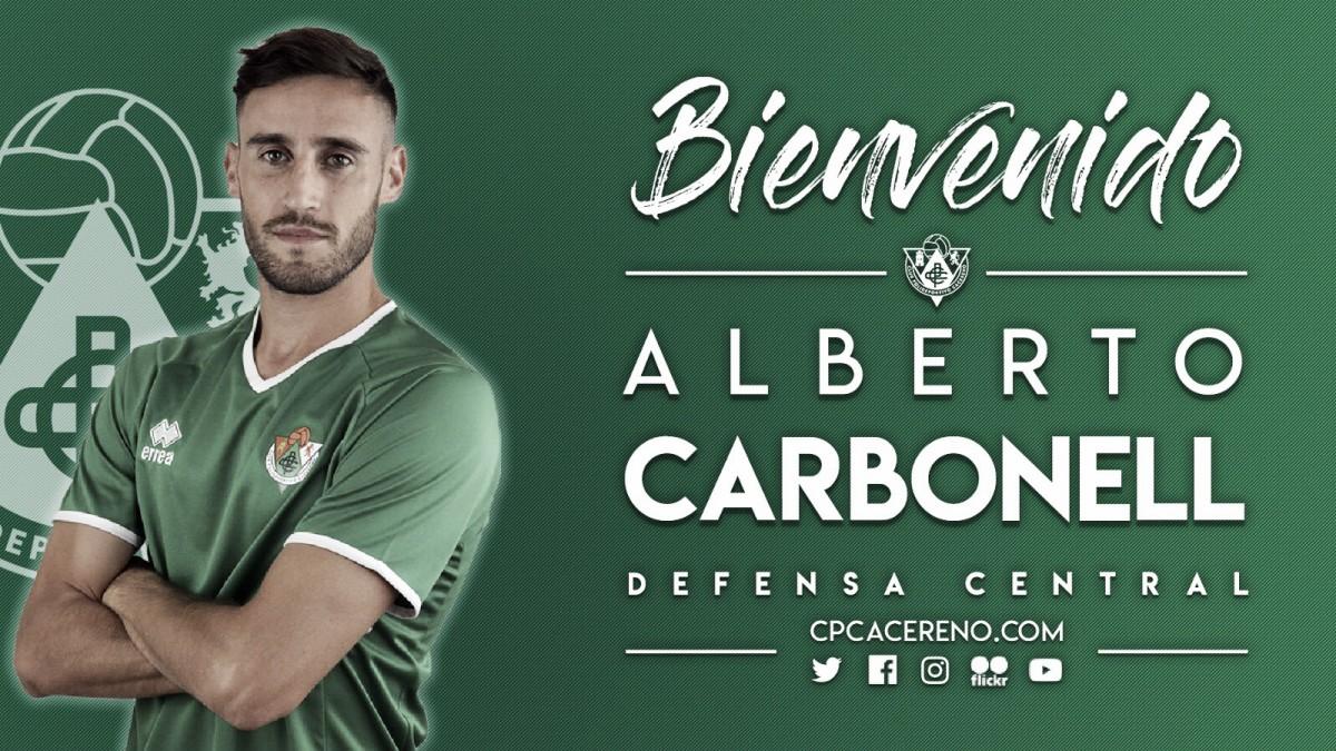 Alberto Carbonell, nuevo fichaje verde
