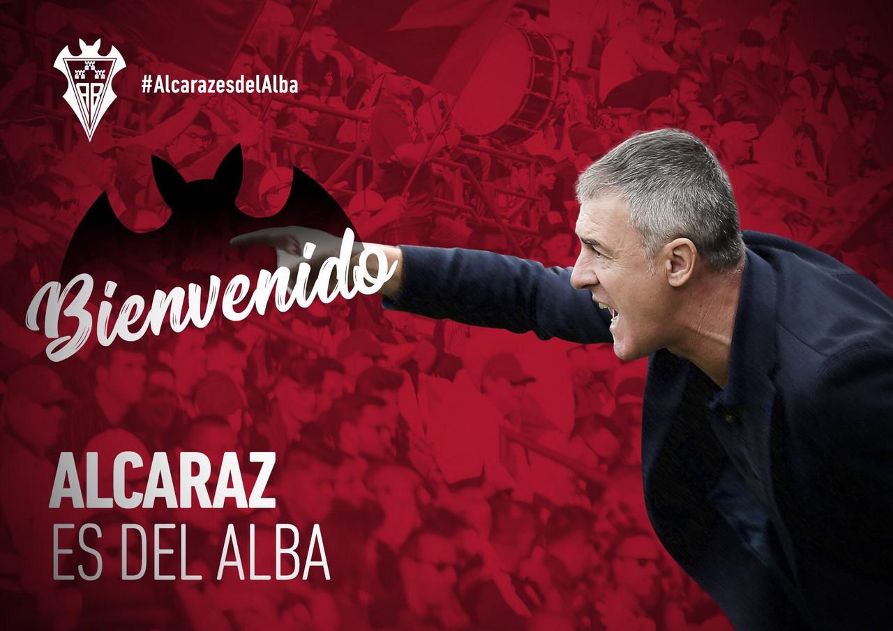 El Albacete anuncia la llegada de Alcaraz como nuevo entrenador en sus redes sociales | Foto: @AlbaceteBPSAD