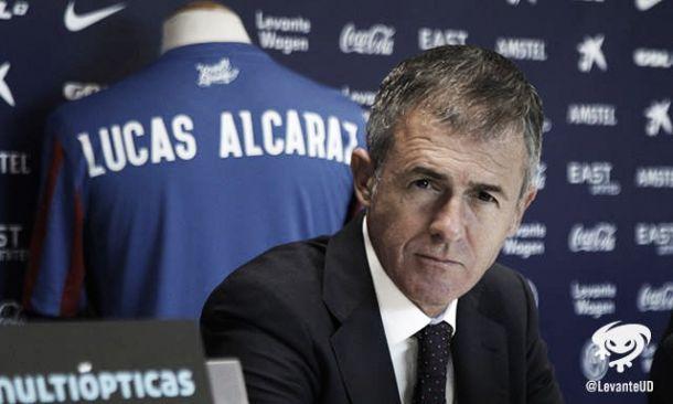"""Lucas Alcaraz: """"Los dos equipos nos jugamos mucho, aunque sean cosas distintas"""""""