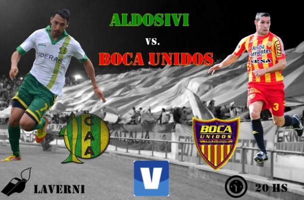 Aldosivi - Boca Unidos: mismos puntos, mismas pretensiones