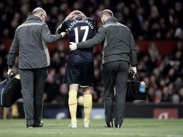 Alderweireld out for four weeks