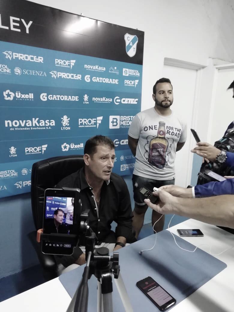 """Cristian Aldirico: """"Este plantel está bien acostumbrado, no festeja empates"""""""