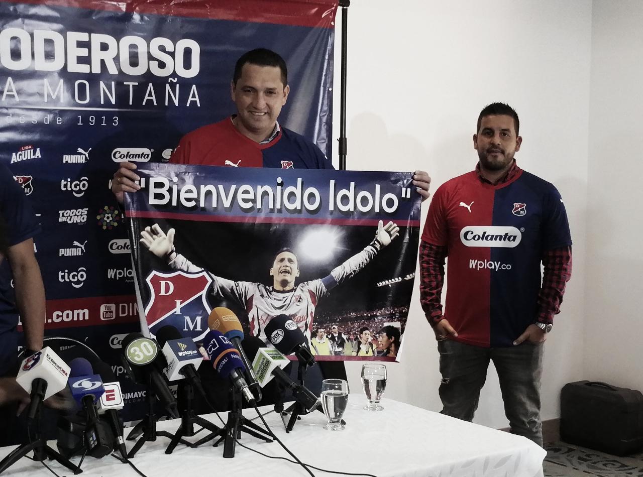 Así le fue a Aldo Bobadilla enfrentando al Atlético Nacional