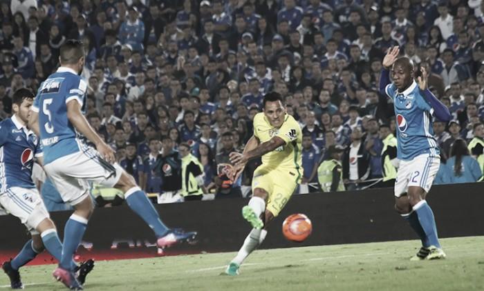 Millonarios, clásico rival para Atlético Nacional en las semifinales de la Liga Águila 2017-I