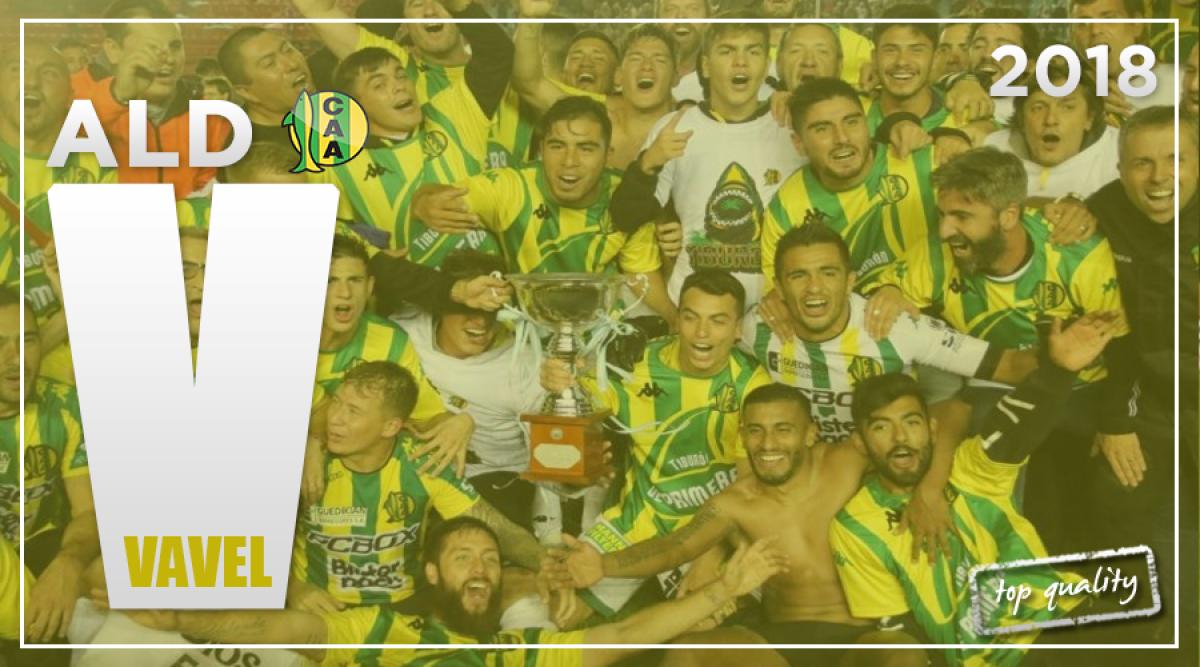 Guía Aldosivi Superliga 2018/19: el regreso del Tiburón
