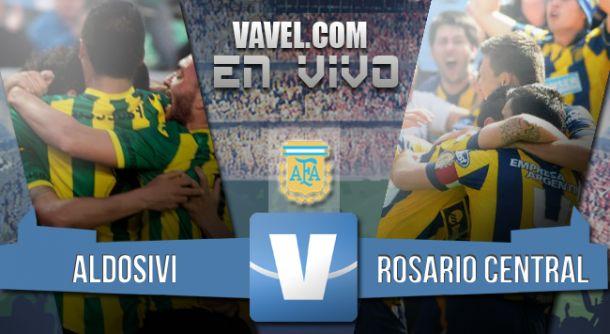 Resultado Aldosivi - Rosario Central 2015 (1-3)