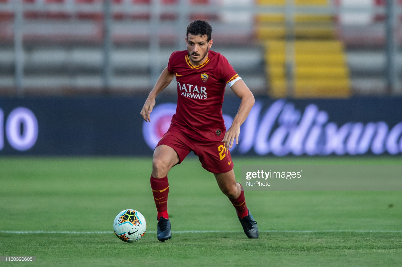 AS Roma's right-back problem