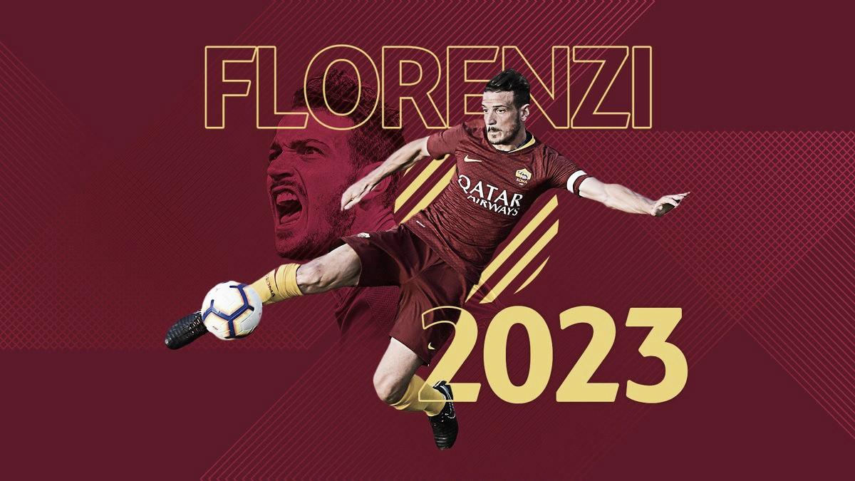 Um dos líderes do elenco, Florenzi firma renovação de contrato com Roma até 2023