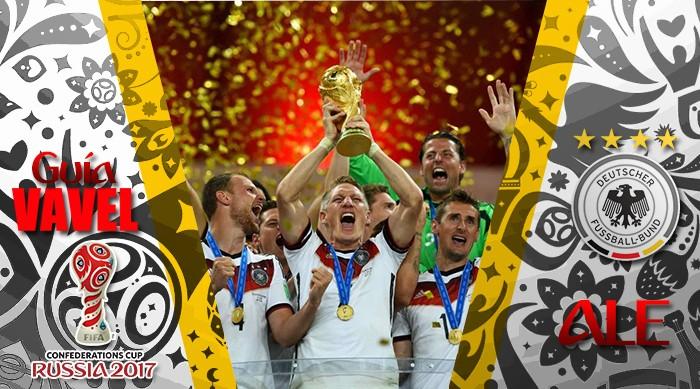 Guía VAVEL Copa Confederaciones 2017: Alemania