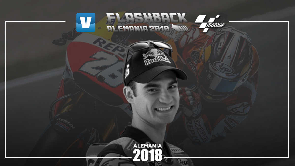 Flashback Sachsenring 2010: Dani Pedrosa voló ante el martillo de Jorge Lorenzo
