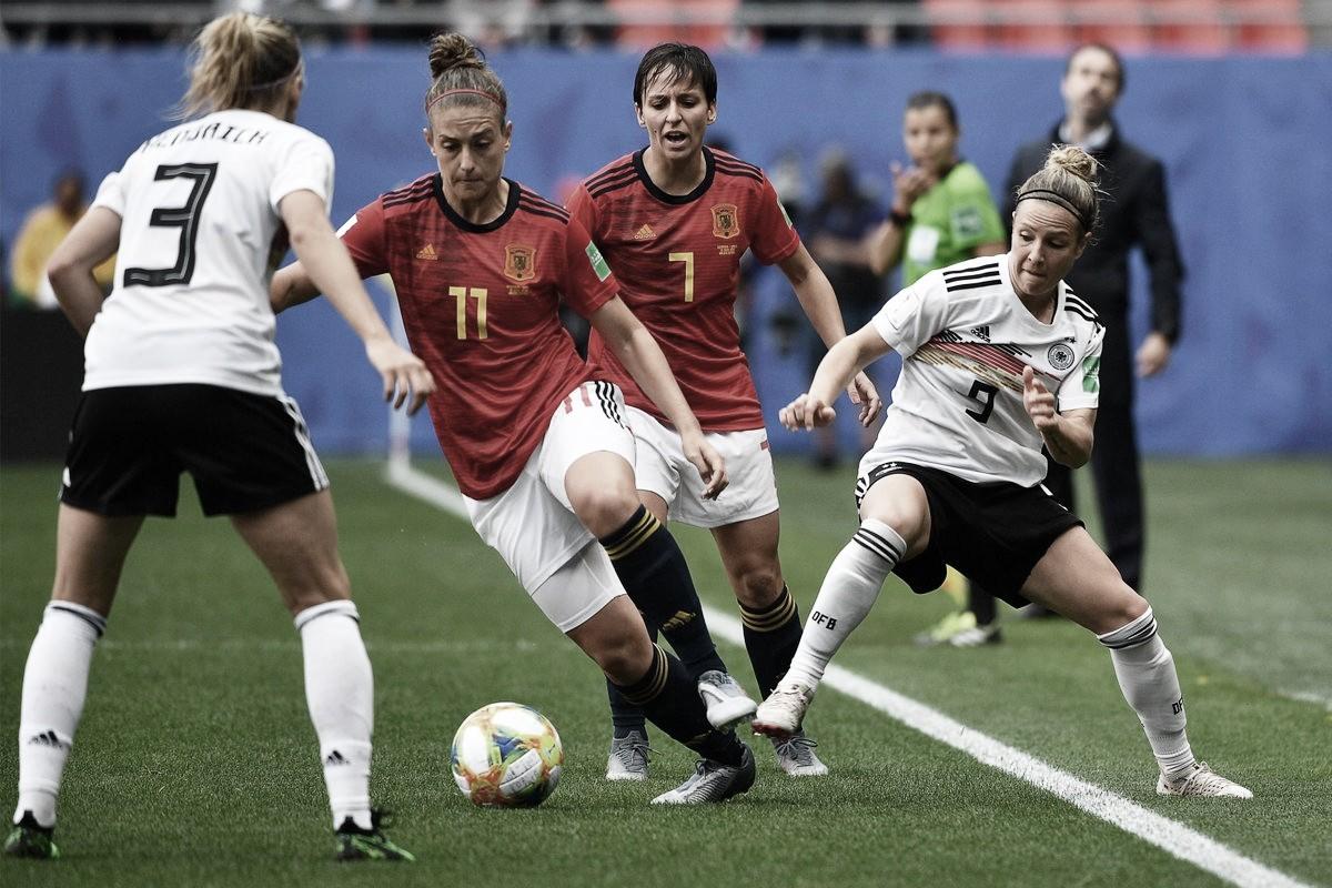 Apretada victoria de Alemania ante España en el Mundial Femenino