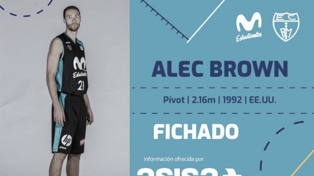 Alec Brown regresa al Estudiantes