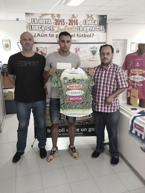Alejandro Belda, nuevo refuerzo de La Hoya Lorca