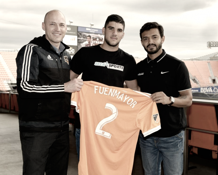 Houston Dynamo Sign Alejandro Fuenmayor