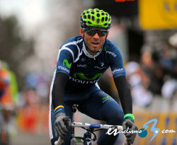Clarke gets first pro win as Valverde loses time.