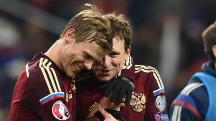 Kokorin et Mamaev, deux amis en dehors du terrain / Crédit photo : goal.com