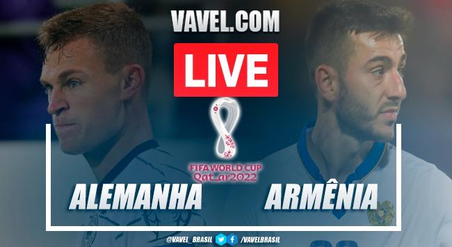 Gols e melhores momentos Alemanha x Armênia pelas Eliminatórias da Copa do Mundo (6-0)