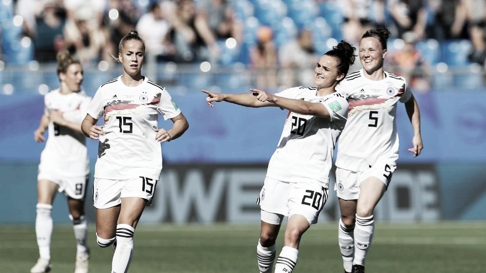 Resultado Alemanha 3 x 0 Nigéria na Copa do Mundo Feminina 2019