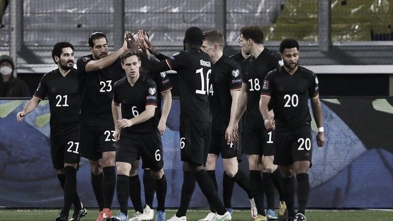 Resumen Islandia vs Alemania en las eliminatorias a Qatar 2022 (0-4)