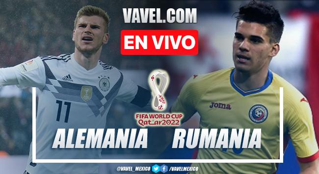 Goles y resumen del Alemania 2-1 Rumania en Eliminatorias Europeas 2021