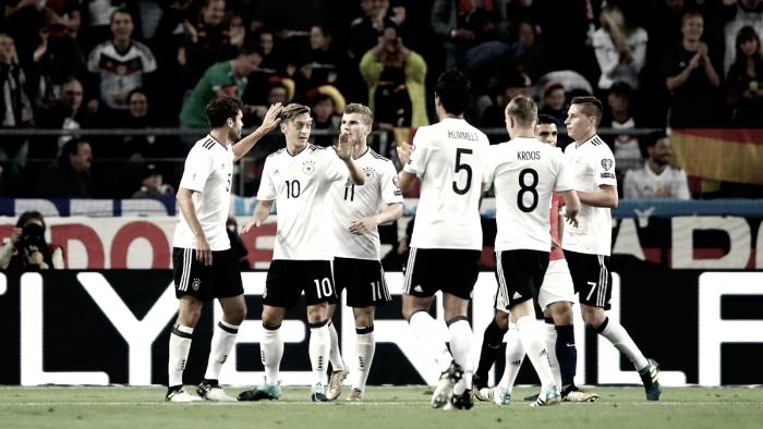 Resumen Alemania vs Azerbaiyán en Clasificación Mundial Rusia 2018