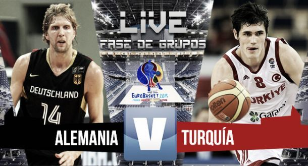 Live Germania-Turchia basket, partita EuroBasket 2015  (75-80)