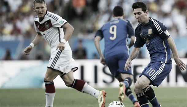 Resultado Alemania - Argentina en partido amistoso (2-4)