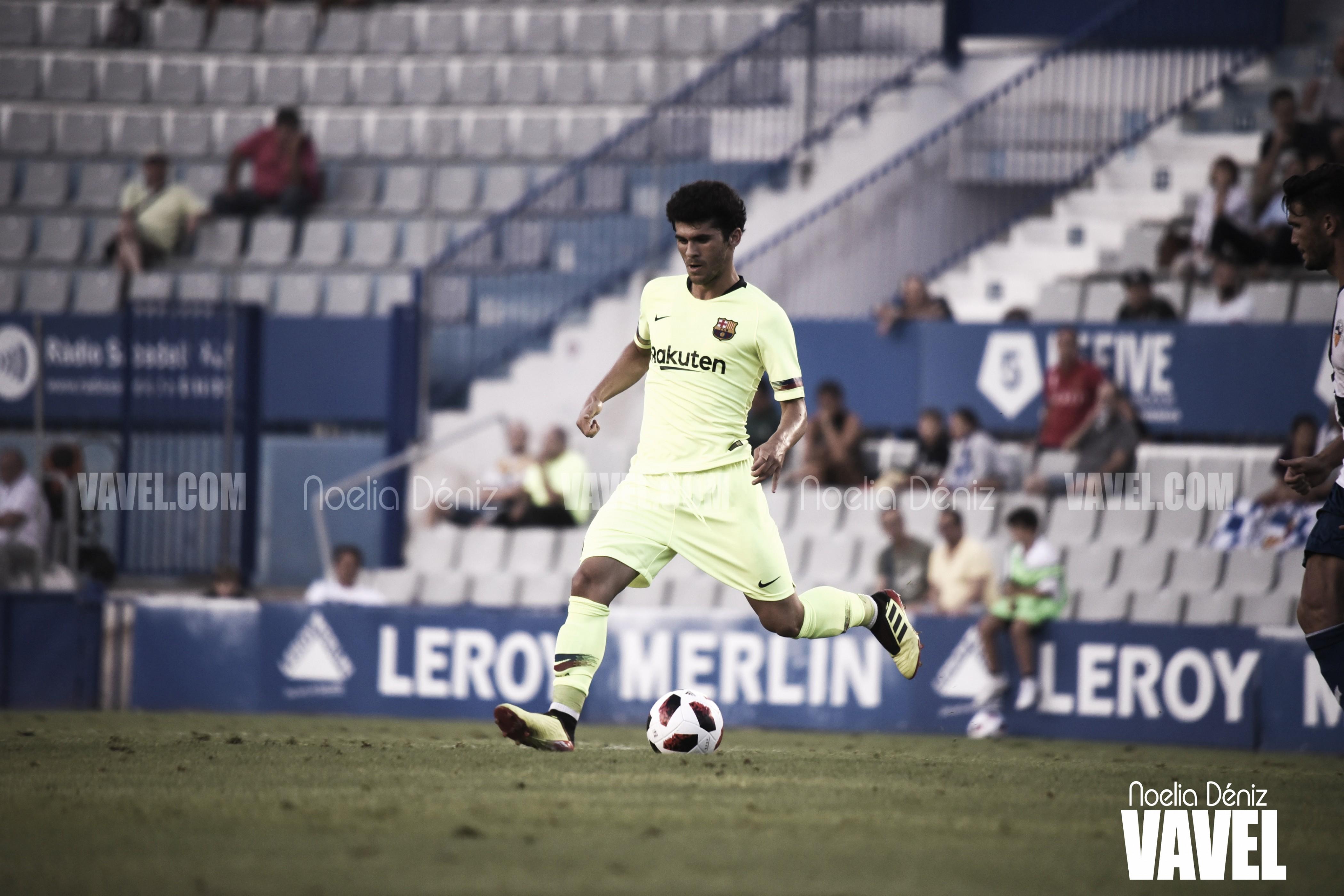 Carles Aleñá vuelve a los terrenos de juego