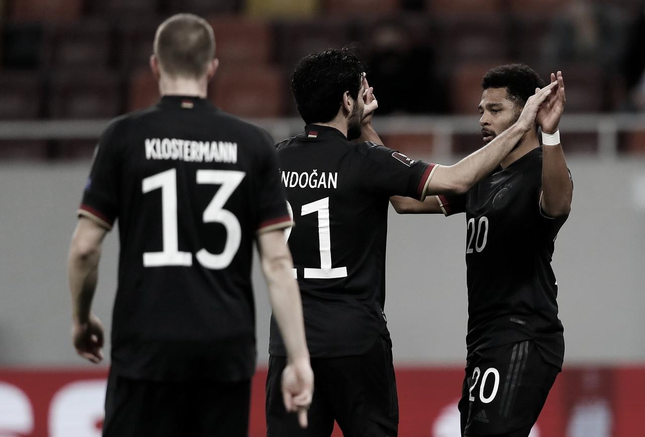 Sem convencer, Alemanha vence Romênia com gol de Gnabry