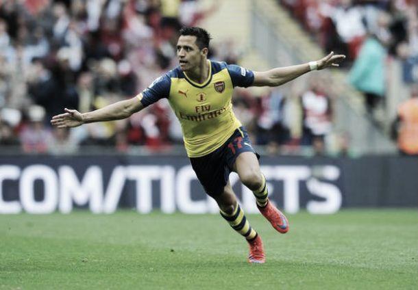 Arsenal 4-0 Aston Villa: Alexis' sublime strike retains Arsenal's FA Cup