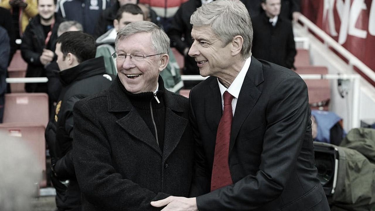 Alex Ferguson x Arsène Wenger: números da briga de gigantes na Premier League