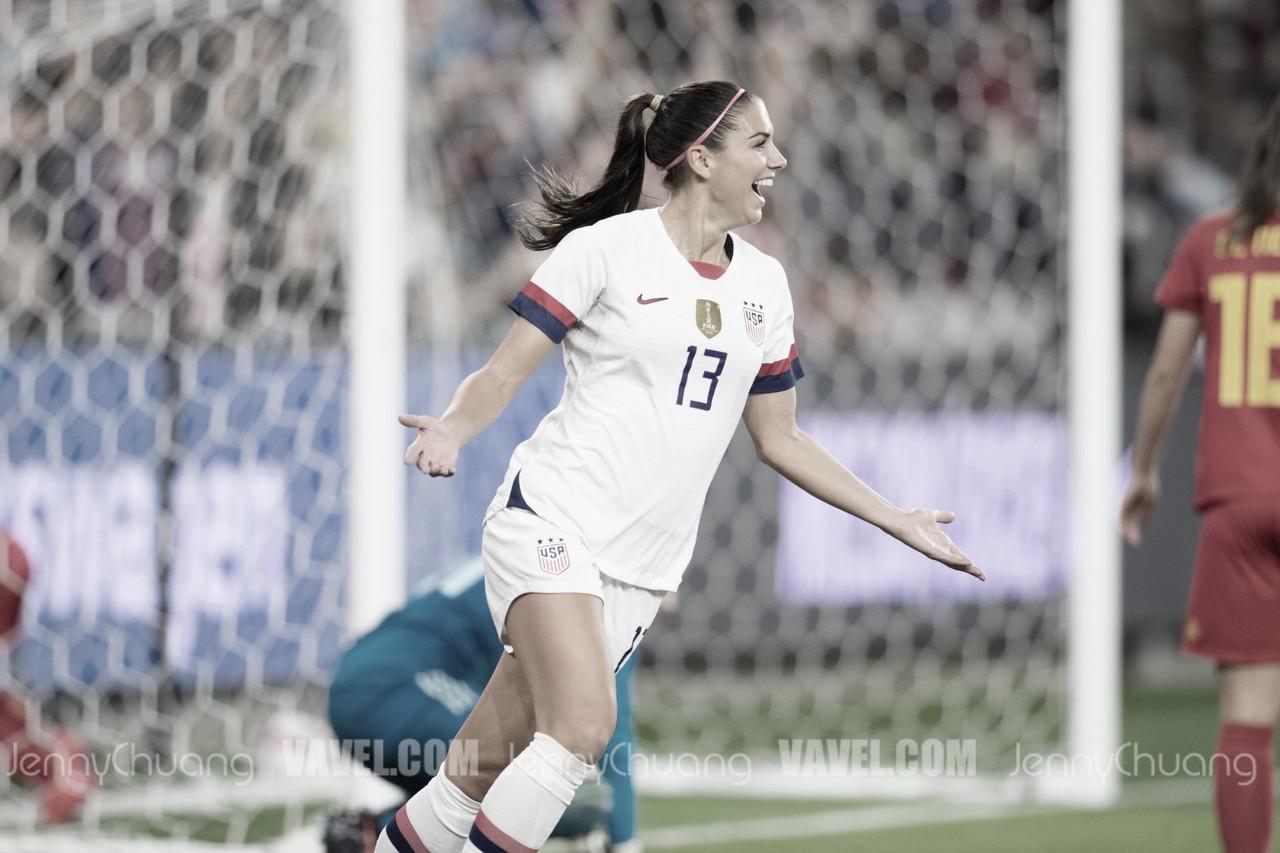 USA vs Belgium recap: USWNT cruises past Belgium 6-0