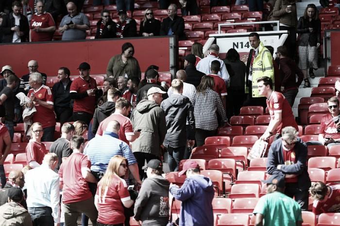 Por conta de um 'pacote suspeito', partida entre United e Bournemouth é cancelada