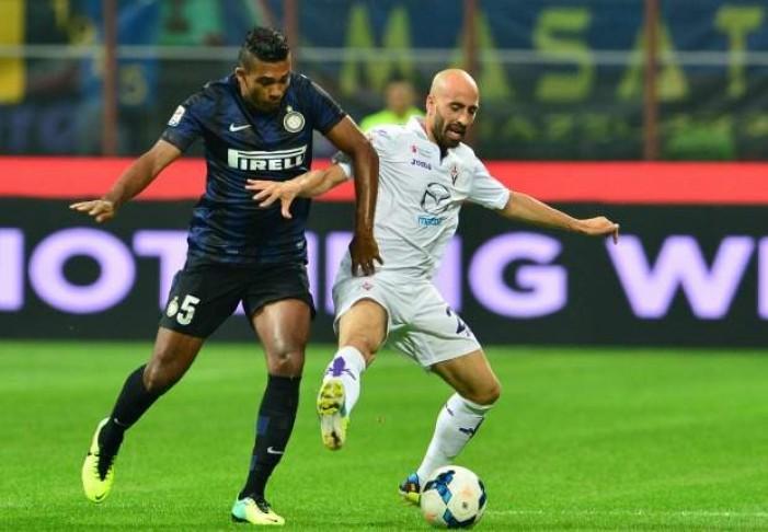 Terminata Fiorentina-Inter in Serie A 2016: Brozo-Valero, la vince Babacar (2-1)