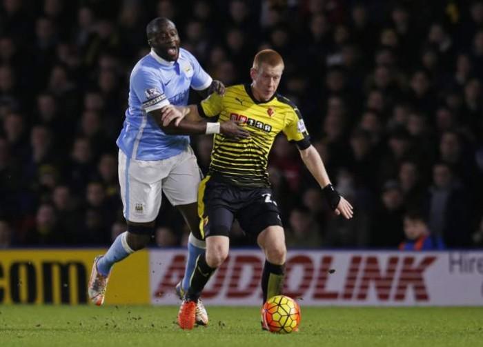 Il City passa sul Watford: 1-2 e un grazie ai campioni