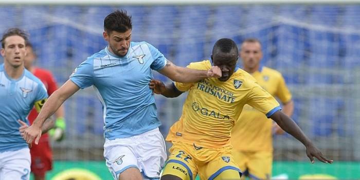 Frosinone-Lazio terminata in Serie A 2015/16 (0-0)
