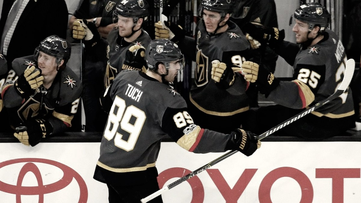 NHL Play Offs: Golden Knights along with Lightning Advance